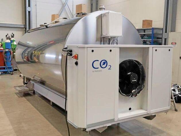 Wedholms kylsystem med koldioxid som köldmedium.