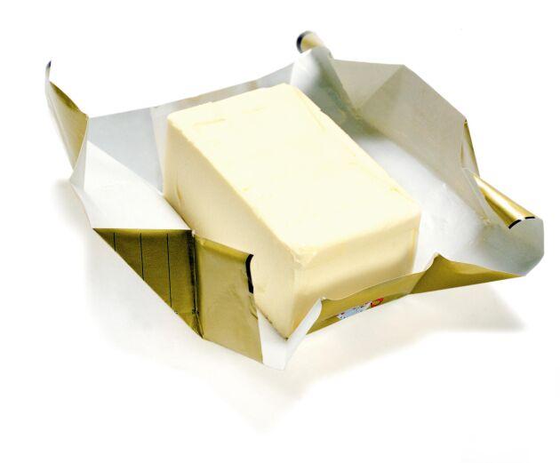 Priset på smör har gått upp med 80 procent jämfört med samma period i fjol.