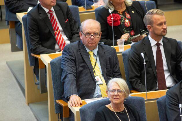 Tidigare landsbygdsministern Eskil Erlandsson (C), här vid riksmötets öppnande i spetember 2018.