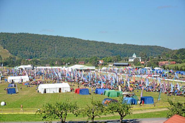 Under O-ringen väntas cirka 18 400 deltagare.