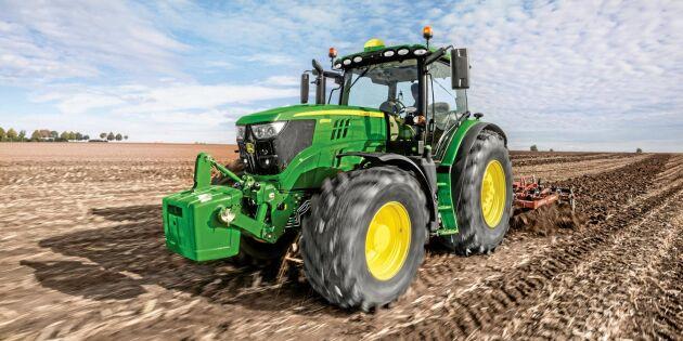 Tyskar väljer grönt när det gäller traktor