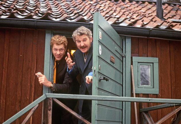 Tage Danielsson och Hans Alfredson.