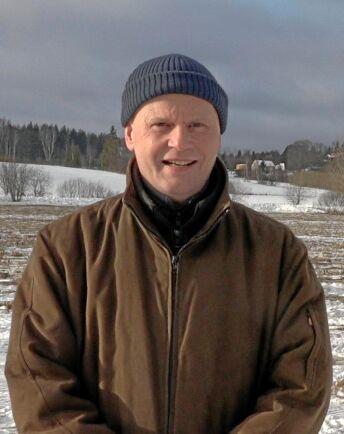 Michael Lagerkvist virkesköpare på Stora Enso tror att skogsbränslet har en ljus framtid, trots allt.