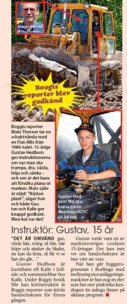 Instruktör: Gustav.