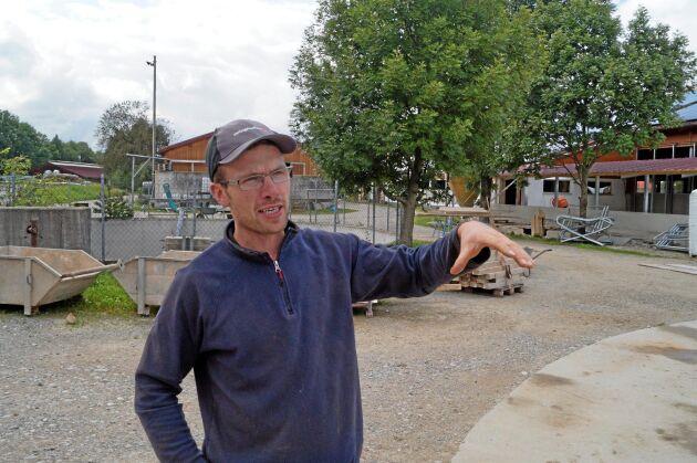 Markus Ostenried, femte generationen mjölkbonde.