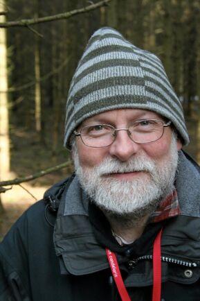 Gunnar Isacsson, ekolog på Skogsstyrelsen.
