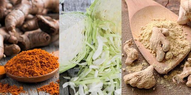 Fermentering: Så gör du supernyttig gyllenkål med ingefära och gurkmeja