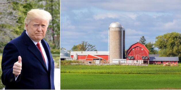 Därför håller USA:s bönder fast vid Trump