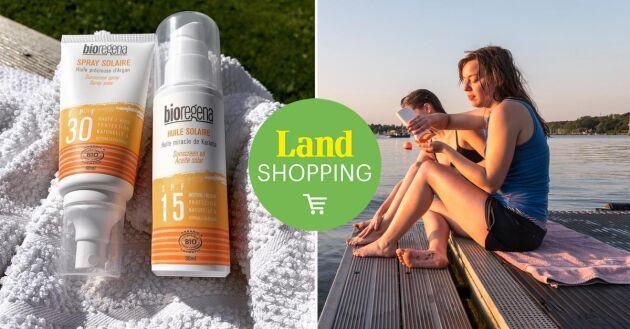 Bioregena har ett naturligt fysikaliskt-/mineral-filter som reflekterar solens strålar och ger ett effektivt skydd mot UVA- + UVB-strålning. Produkten passar alla hudtyper, även känslig hud