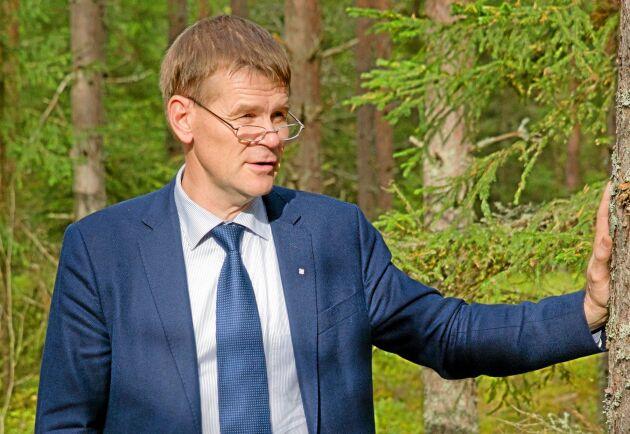 Herman Sundqvist, generaldirektör, får ny ordförande och tre nya ledamöter till Skogsstyrelsens styrelse.