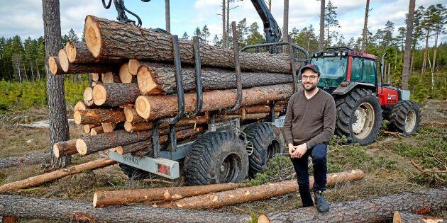 Stabilitet avgjorde valet av skogsvagn