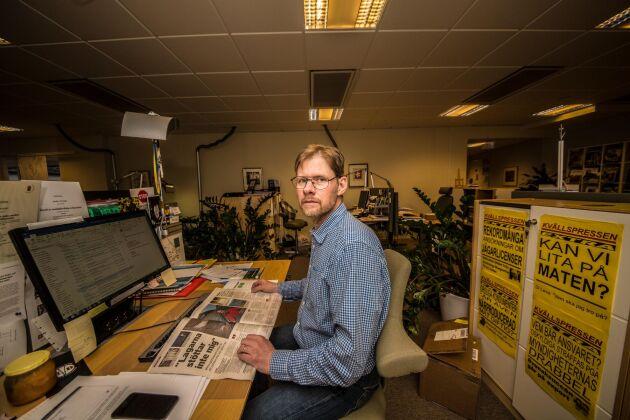 Anders Drottja, krissamordnare på LRF, har en klar känsla av att trakasserierna mot djurägare har ökat.