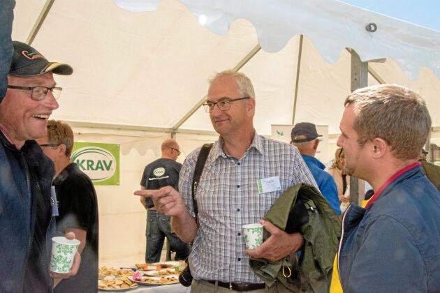 Lantbrukaren Søren Ilsøe från Själland är en stark förespråkare av plöjningsfritt jordbruk med mellangrödor, det som ofta benämns conservation agriculture.