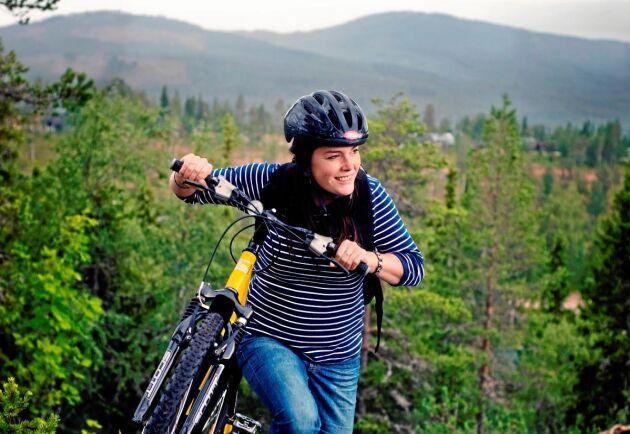 Njut av naturen. Vandringsleder, fiske- och kanotvatten finns intill hotellet. Du kan även hyra en mountainbike eller elcykel om du vill.