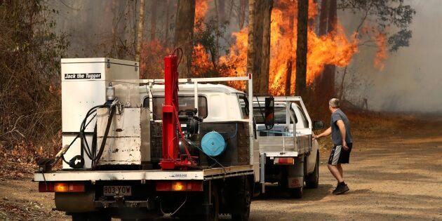 Australien bävar för nya bränder