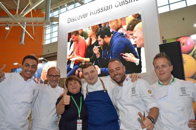 """""""Upptäck det ryska köket!"""" är namnet på en statlig finansiering för att marknadsföra det ryska köket."""