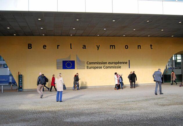 EU-kommissionens högkvarter Berlaymont i Bryssel.