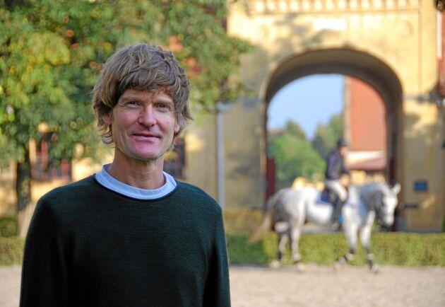 Per Ericsson, som själv är aktiv inom hästsport, startade utvecklingen av träningsappen Equilab.