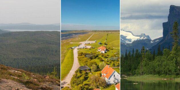 Här finns vår vackraste natur – svenskarna har röstat