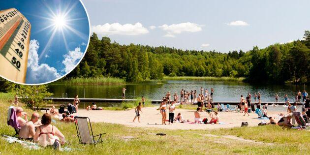 Varmaste maj på 250 år – och nu blir det ännu varmare