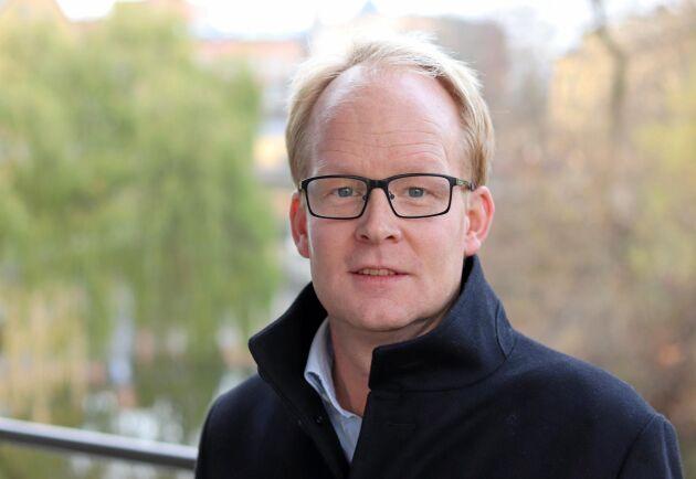 Claes Johansson, hållbarhetschef på Lantmännen.