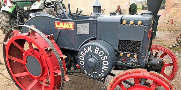 Drygt 50 veterantraktorer såldes på stor auktion