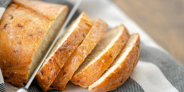 Det här kan du göra av gammalt bröd