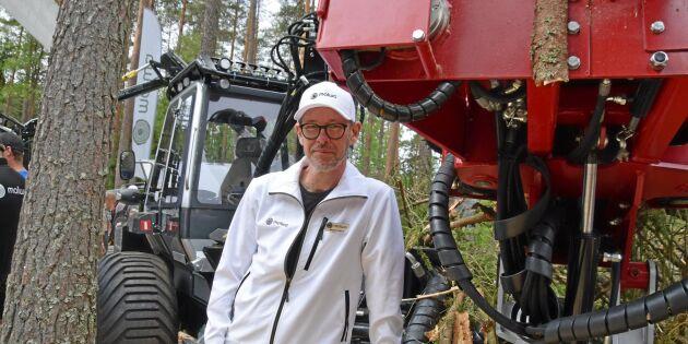 Malwas 560 F – maskinen för barkborreträd