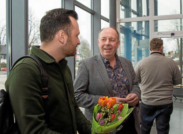 På LRF Västra Götalands regionstämma träffade den grävande journalisten Michael Verdicchio bland andra Knut Indebetou, en lantbrukare som själv drabbats av aktivisternas brott.