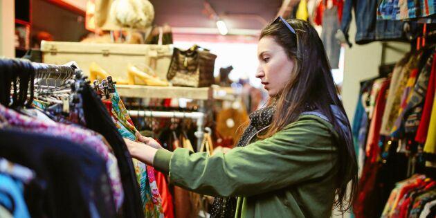 Så lyckas du med klädköp på loppis – expertens 10 knep