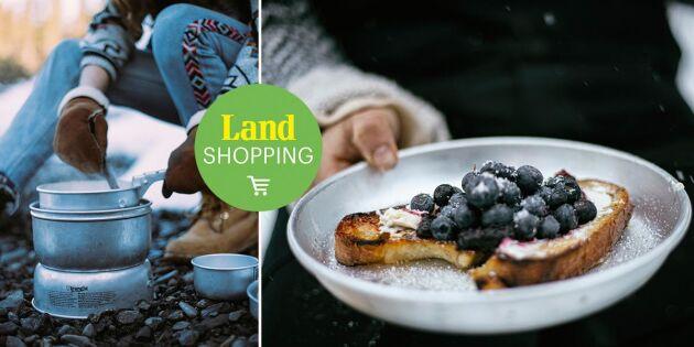 Klassikern från Trångsviken! Nu vill alla laga mat på Trangia