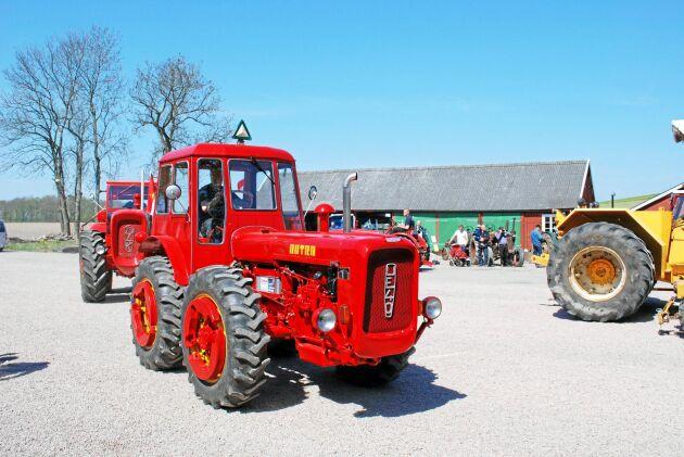 Under Dutradagen 2016 fick publiken se ett antal traktorer tillverkade i de gamla öststatsländerna.