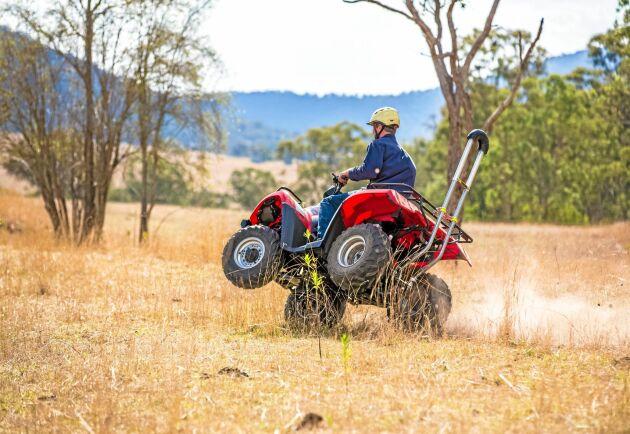 Det finns flera typer av skyddsbågar på marknaden. Just den här är från Quadbar i Australien.