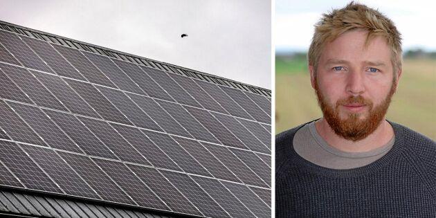 Regeringen vill förstärka solcellsstödet