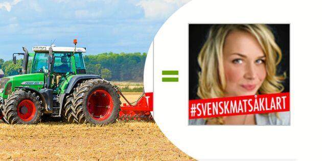 Stötta det svenska lantbruket med din profilbild