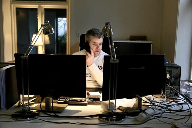 Framöver tänker sig Johan Olsson jobba med företagsledning 50 procent av tiden.