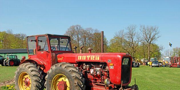 De importerade traktorn som ryssarna stoppade