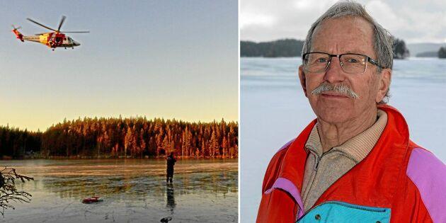 """Jan förlorade sin kamrat på isen: """"Jag minns att jag sa att nu är det slut"""""""