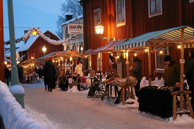 Linköpings julmarknad.
