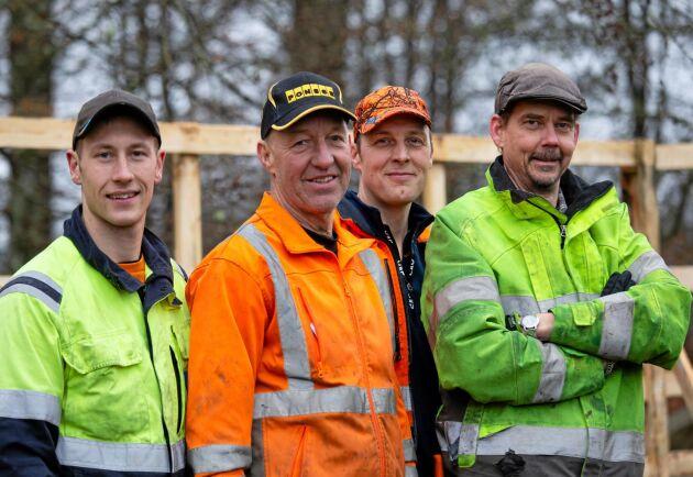 Tillverkarna. Företaget består av Adam Everås, Lenny Andersson, Tobias Andreasson och Håkan Johansson, alla med bakgrund inom trä- och skogsindustrin.