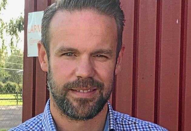 Gustav Carlander är programansvarig på Viltvårdsgymnasiet.