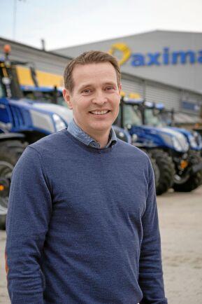 Carl Lindell är vd för Axima AB samt ordförande för sektion Lantbruk i Maskinleverantörerna, ML