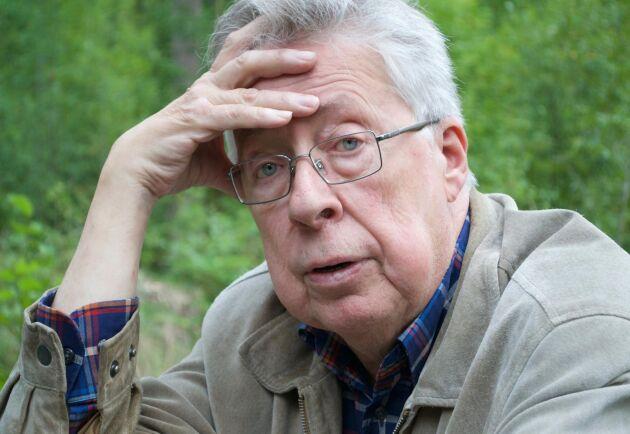 Skogsbruk med ek är lönsamt, men inte om det sköts med trakthyggesbruk, anser Lennart Bosrup.