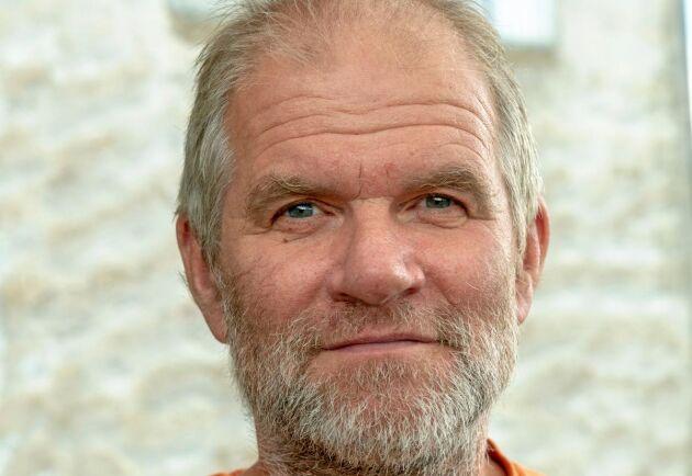 Hans Bulthuis driver Ullkontoret på Gotland.