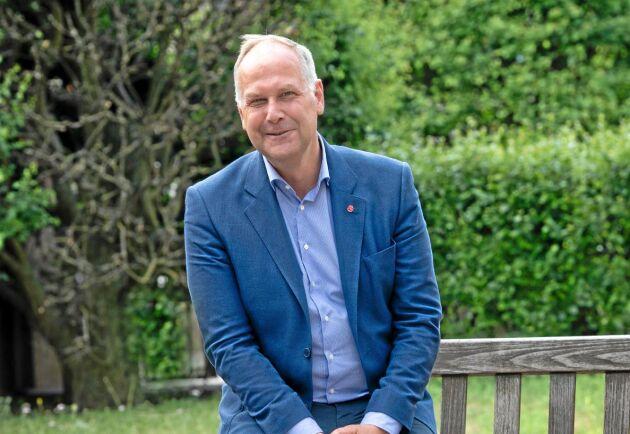 Jonas Sjöstedt, partiledare för Vänsterpartiet, menar att Cap är ett ineffektivt system. FOTO: URBAN BRÅDHE