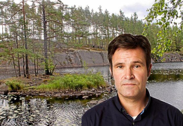 """Missa inte Göran Berglunds granskande artikelserie """"Kampen om dammarna""""."""