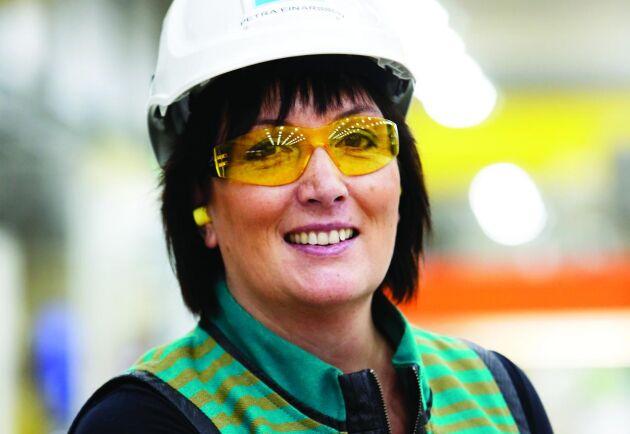 Uppsala Universitet utsåg Petra Einarsson till årets alumn 2013. Då var hon VD för Sandvik Materials Technology.