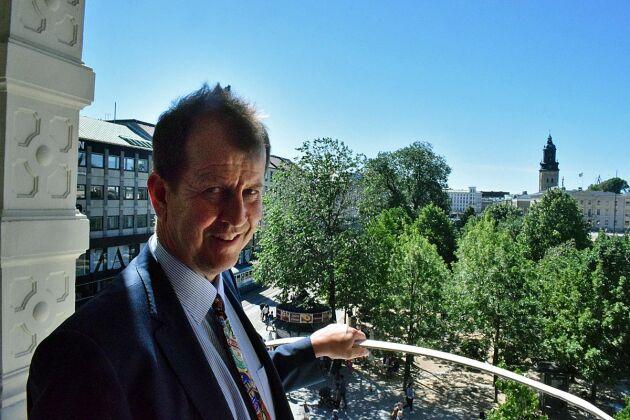 Peter Bronsman ligger bakom en av Sveriges största exportsuccéer inom mat- och dryck - den söta cidern från Kopparbergs bryggeri.