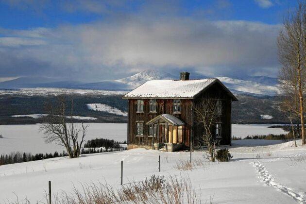 Susanne och Bengt Löfstaf har köpt och börjat renovera detta magiska ödehus i Kallbygden, Jämtland.