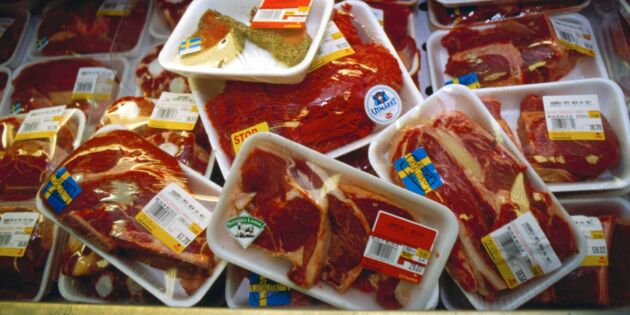 Nu reas hundratals ton svenskt nötkött ut